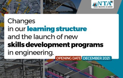 Announcing changes in our learning structure and the launch of new courses