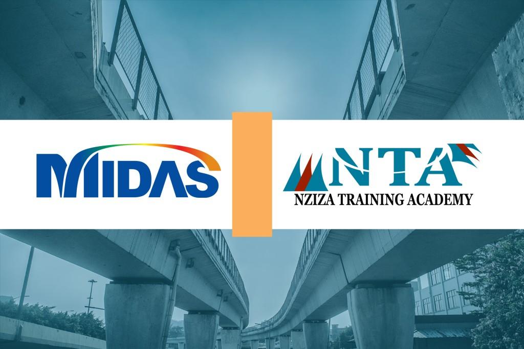 South Korean MIDAS authorizes Nziza Training Academy in bridge engineering.